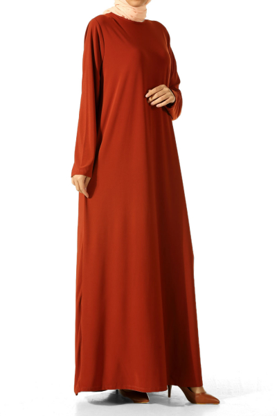 Basic Uzun Elbise