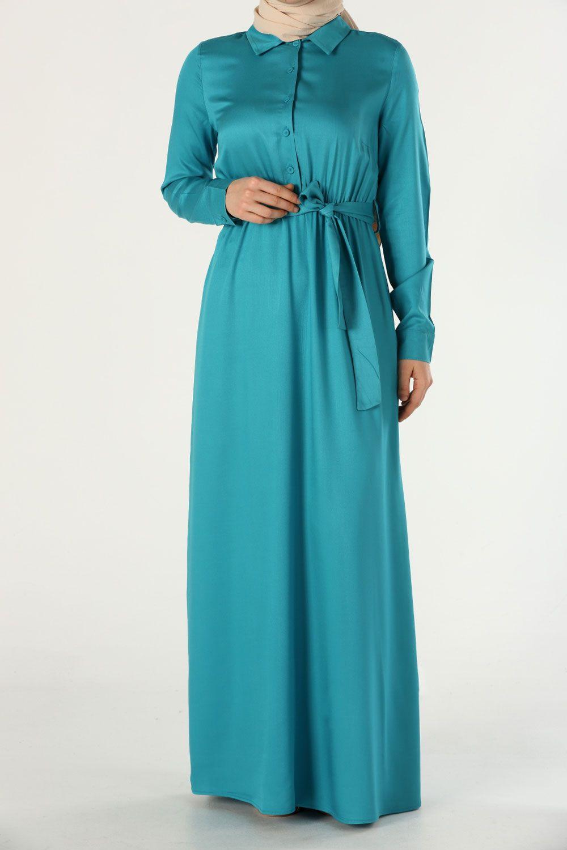 Viscose A-Line Comfy Modest Dress