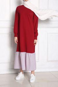 Eteği Fırfırlı Elbise