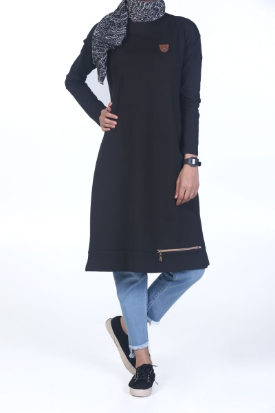 ESTHETIC AND SHOULDER SPINNED PENCIL TUNIC