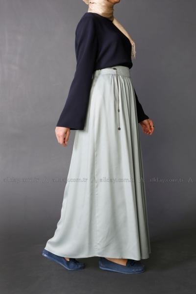 Decorative Zippered Skirt