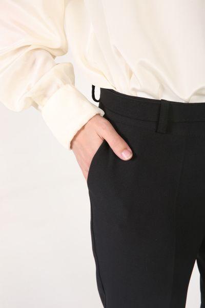 Eventi Kemerli Cepli Kumaş Pantolon