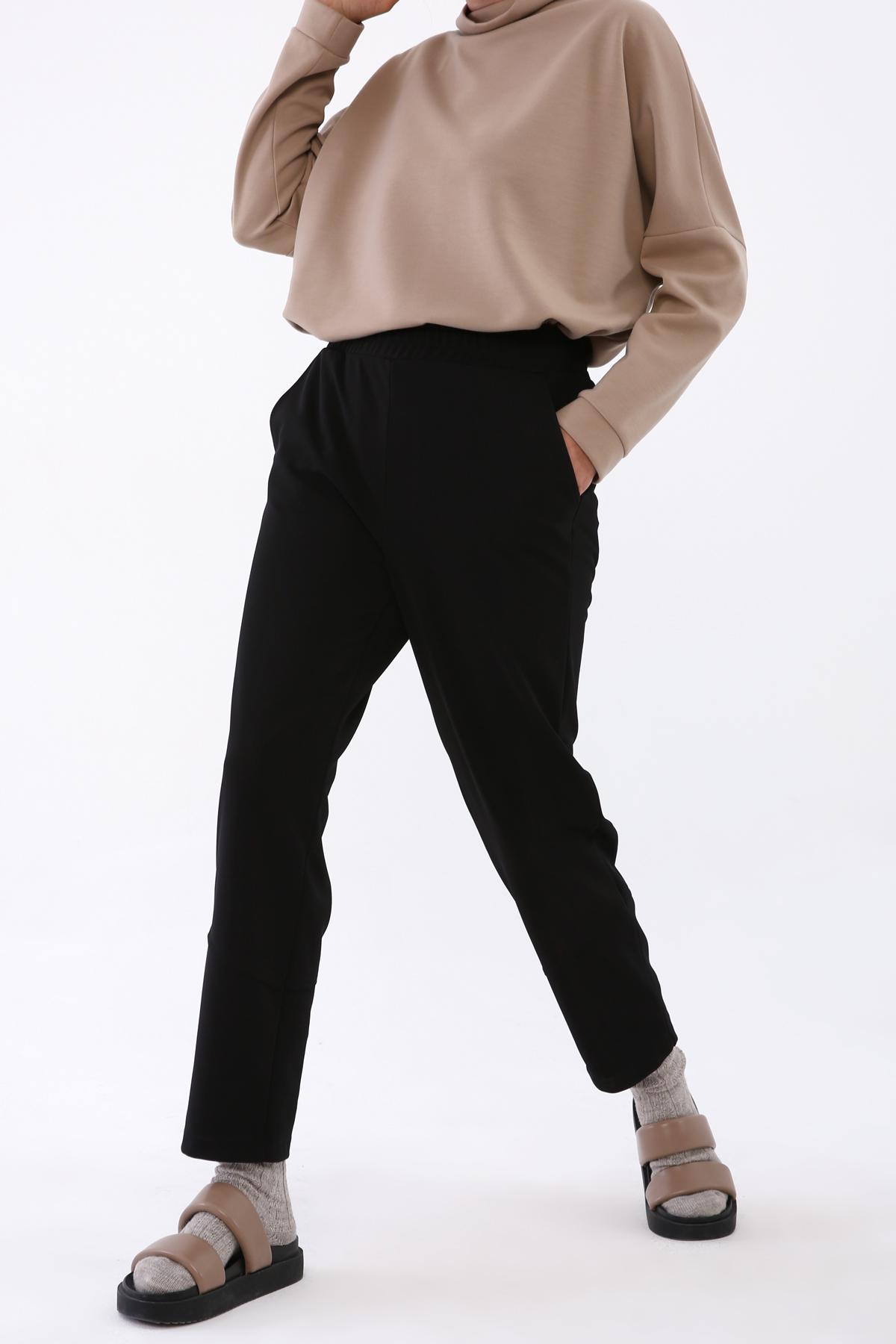 Fantezi Kumaş Örme Pantolon