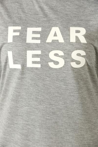 FEAR LESS BASKILI PENYE TUNİK