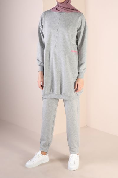EMBROIDERED TRACK SUIT