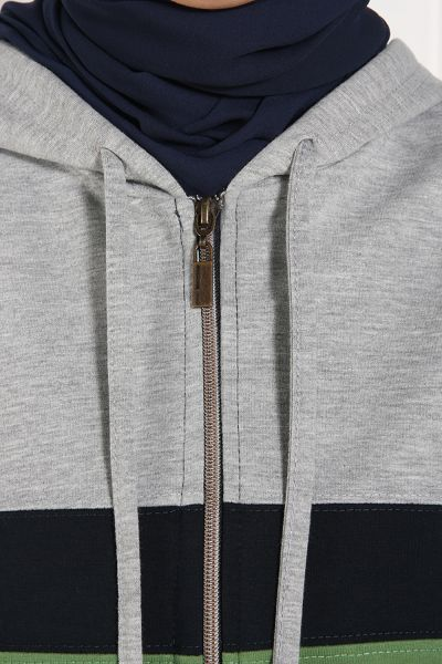 ZIPPERED TRACKSUIT