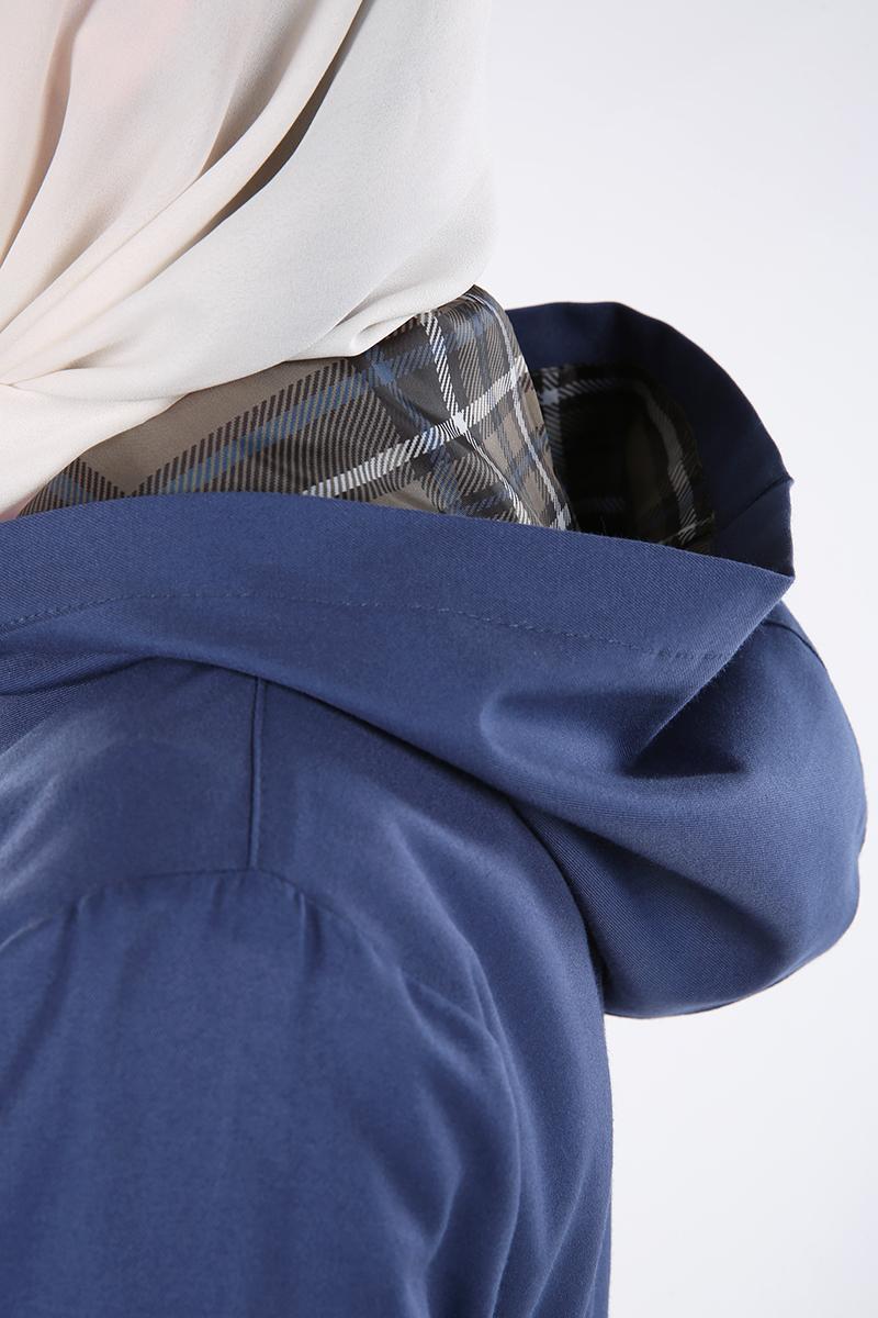 Zippered Hooded Abaya