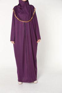 Fermuarlı Namaz Elbisesi