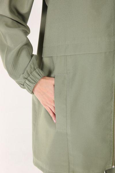 Fermuarlı Pantolonlu Takım
