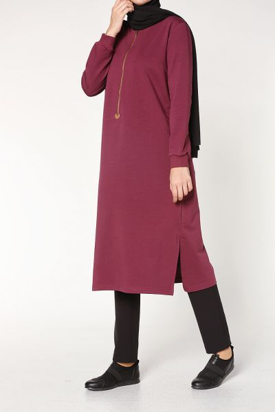 ZIPPERED TUNIC