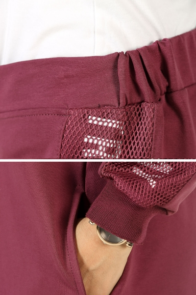HOODED ZIPPERED PRINTED TRACKSUIT