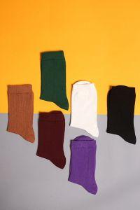 Fitilli Lastikli Çorap