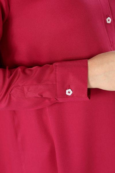 Viscose Bow Detail Tunic