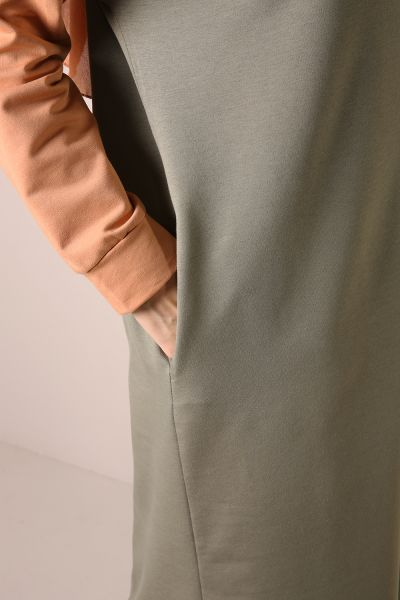 HOODED ZIPPERED TRACK SUIT