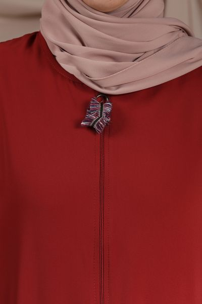 Zippered Abaya