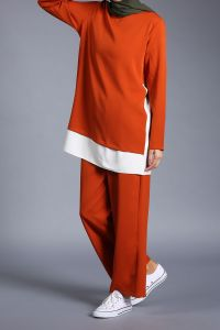 Garnili Pantolonlu Takım
