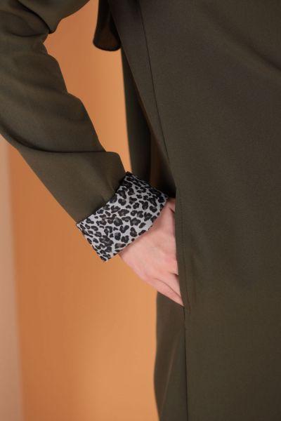 Garnili Uzun Ceket