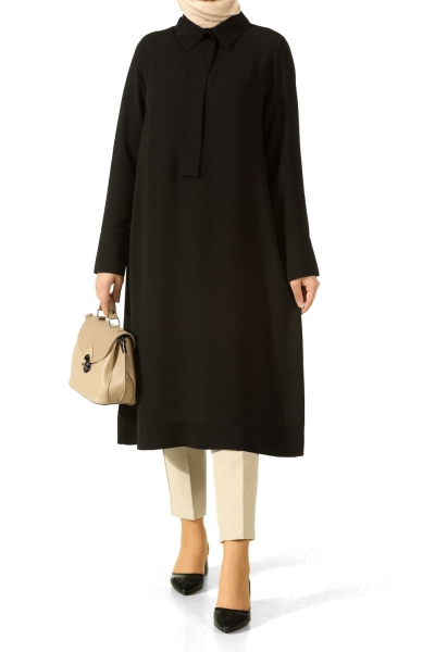 Wide Placket Tunic
