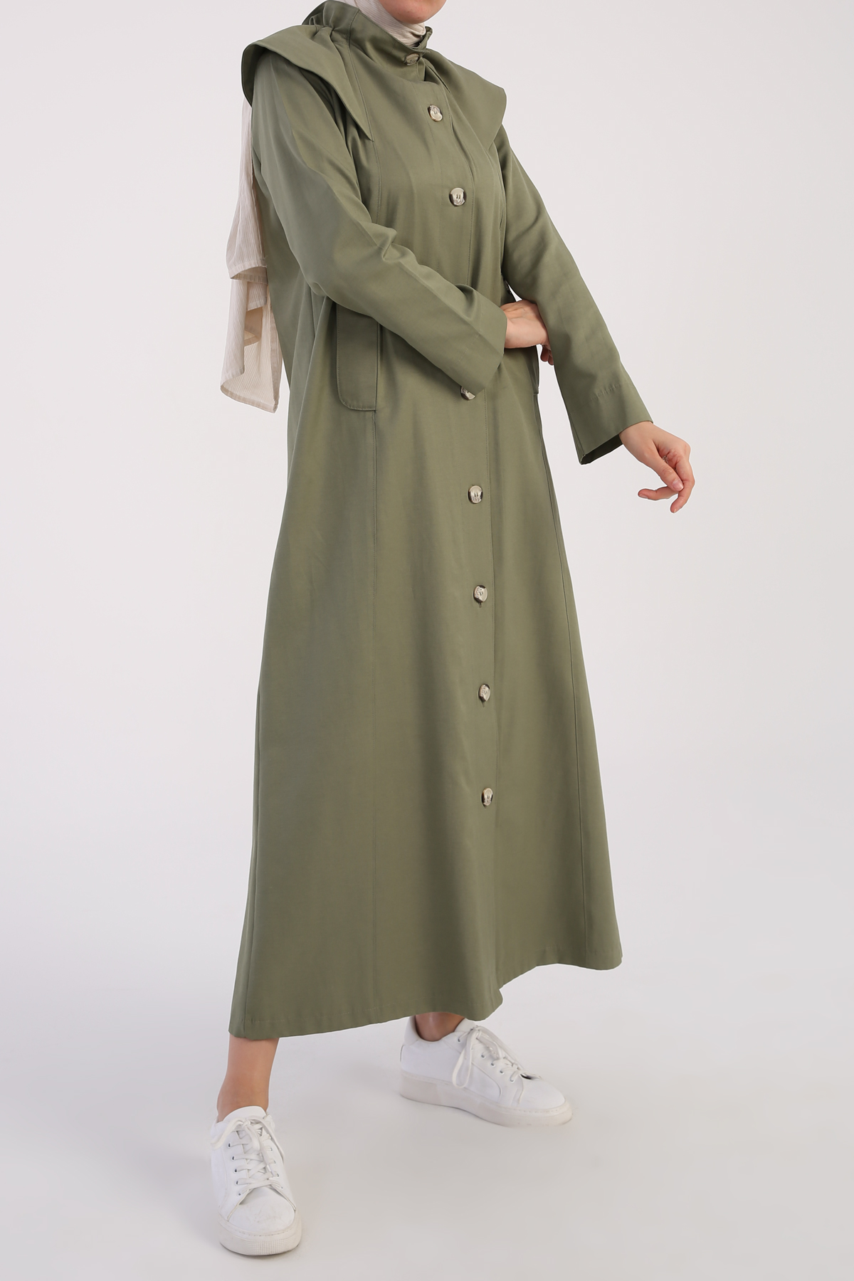 Abaya With Pocket