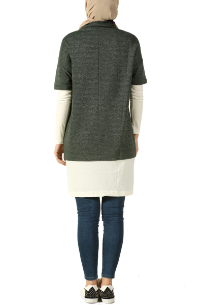 WIDE COLLAR TUNIC