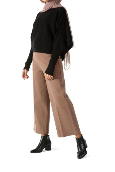Gizli Fermuarlı Pantolon