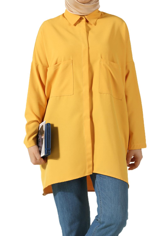 Gizli Patlı Cepli Bluz