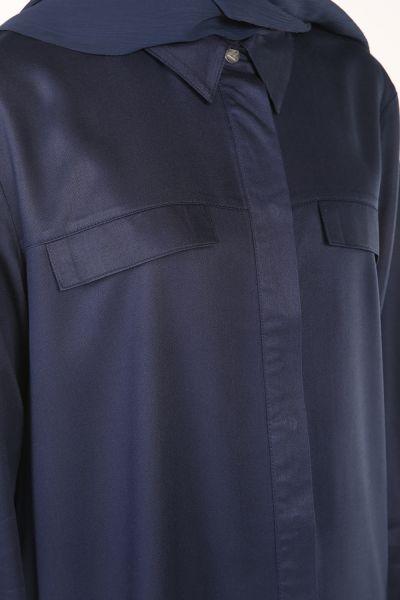 Gizli Patlı Düğmeli Gömlek