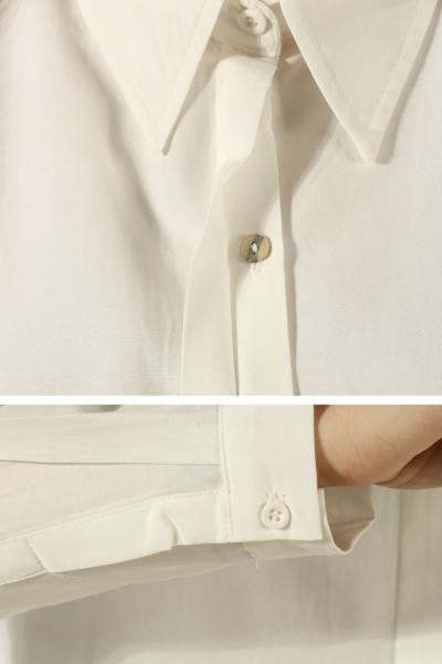 Hidden Button Skirt