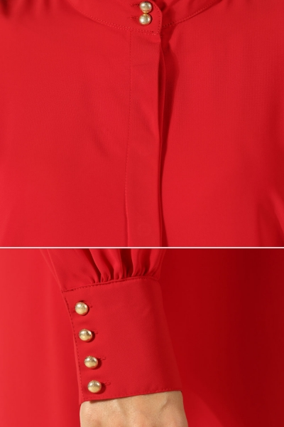 Smocked Sleeve Tunic