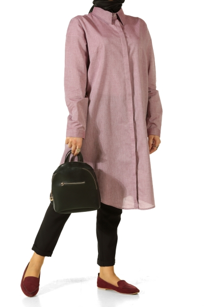 Hidden Button Tunic