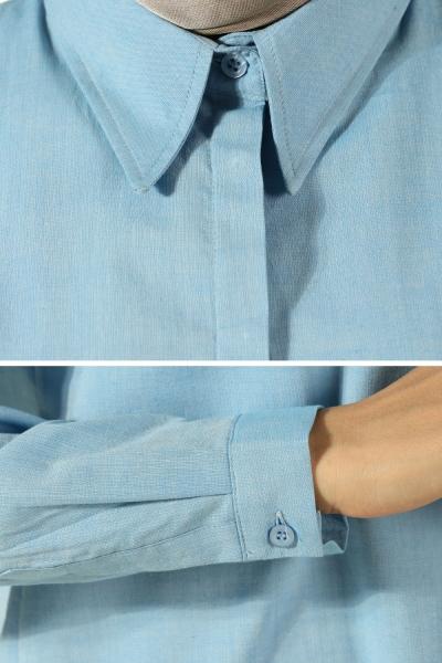 Hidden Button Tunic