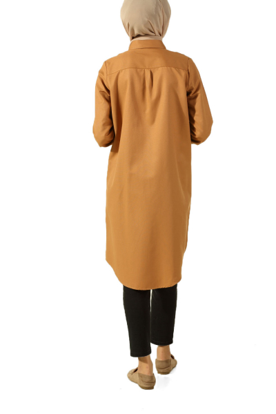 CONFIDENTIAL BLUNTED TUNIC