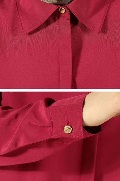 Hidden Button Long Tunic