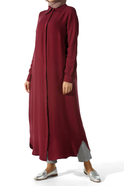 HİDDEN BUTTON TUNIC
