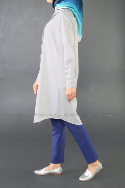 Gömlek Yaka Tunik
