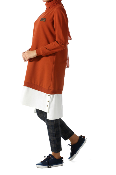 COMBED COTTON TUNIC