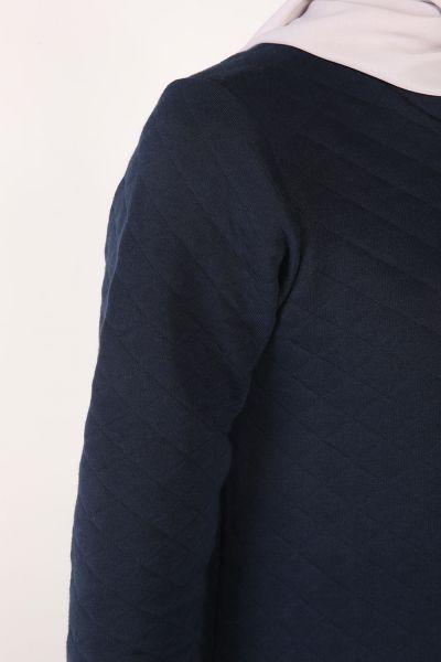 Gömlek Garnili Tunik
