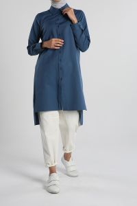 Button Shirt Tunic