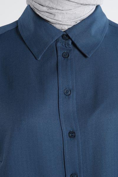 Buttoned Shirt Tunic