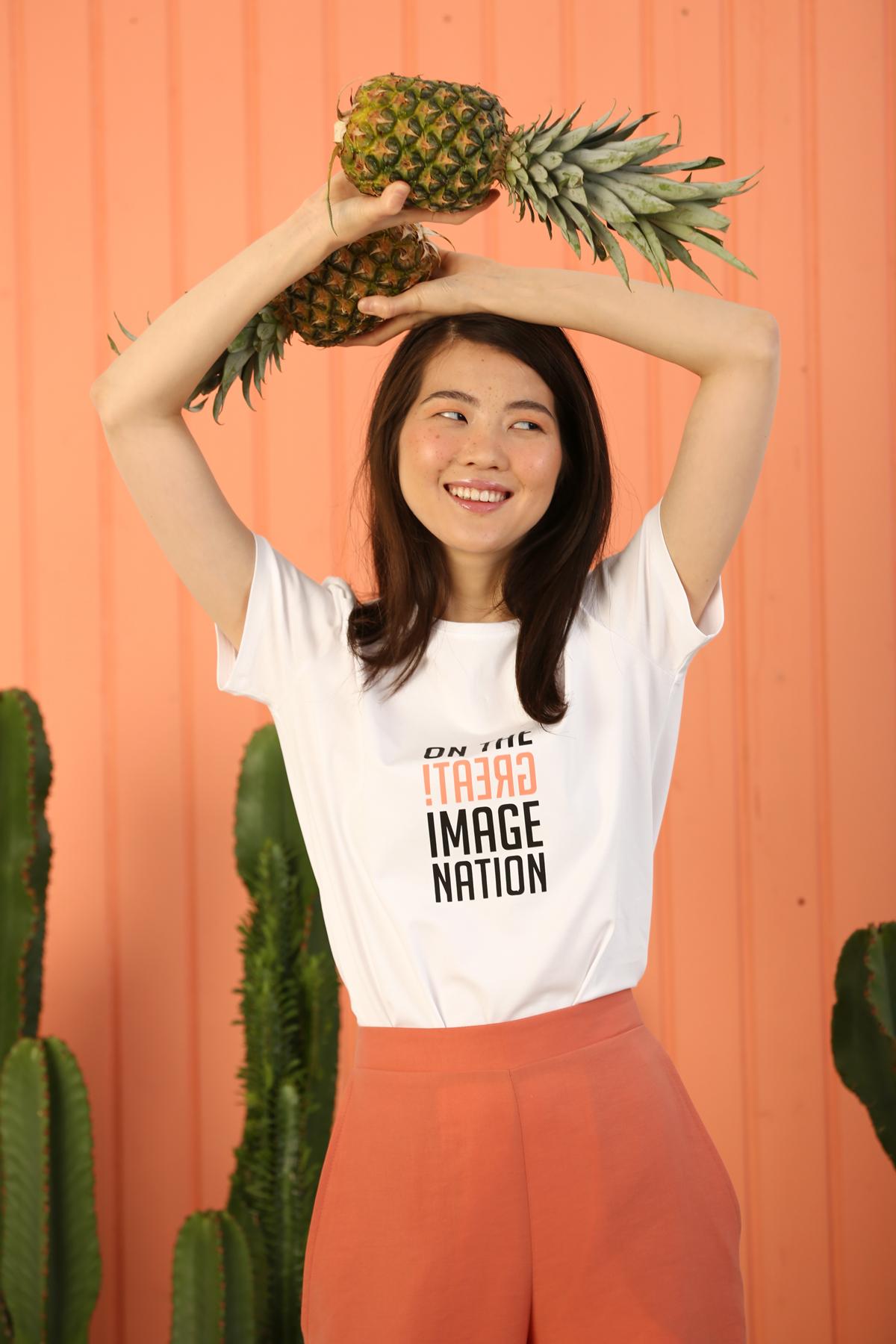Great Slogan Short Sleeve T-Shirt Tunic