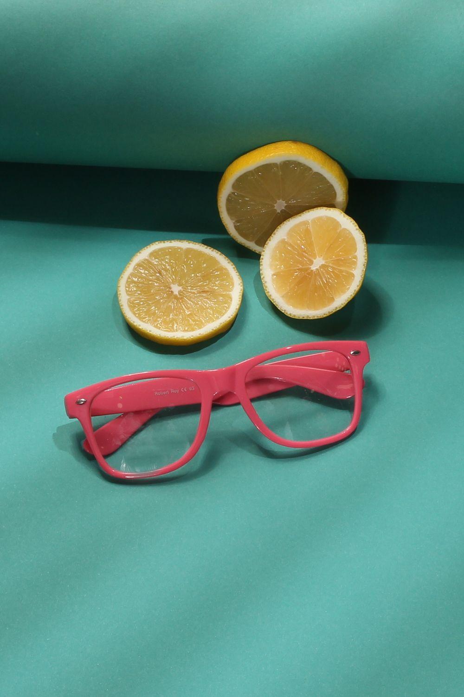 Renkli Çerçeveli Gözlük