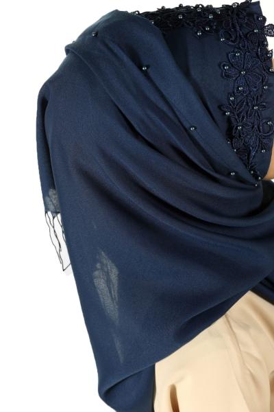 Pearl Detail Shawl