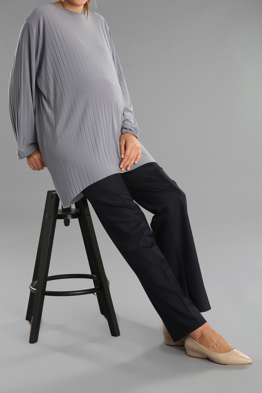 Elastik Cepli Hamile Pantolonu