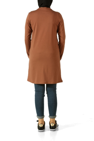 Hear Printed Combed Cotton Tunic