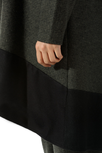 Garnili Desenli Pantolonlu İkili Takım