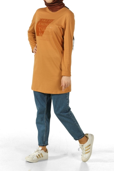 DISTRICTS PRINTED COMBED COTTON TUNIC
