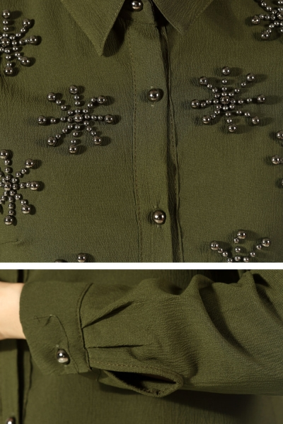 Pearl Detail Tunic