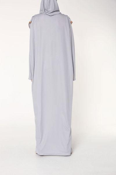 Jersey Düz Elbise