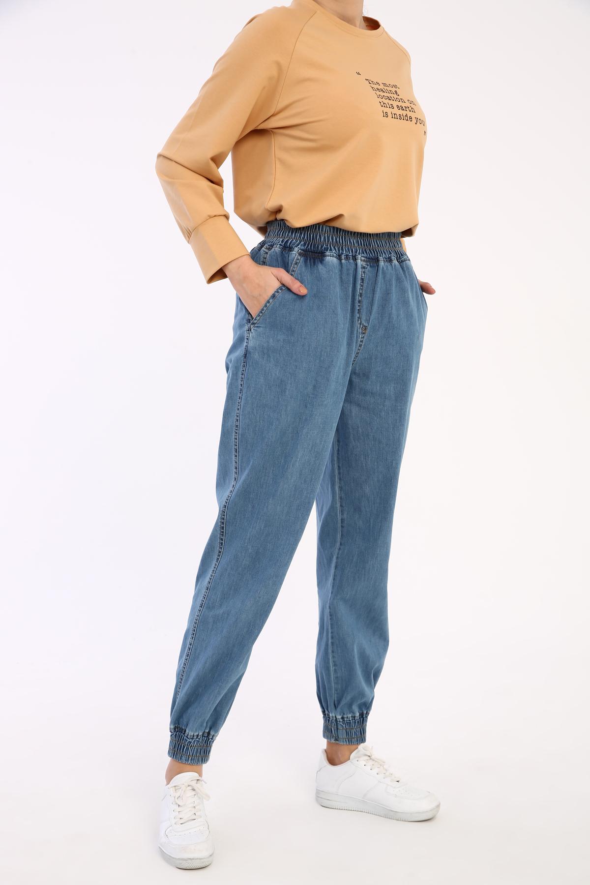 Jogger Comfy Denim Pants