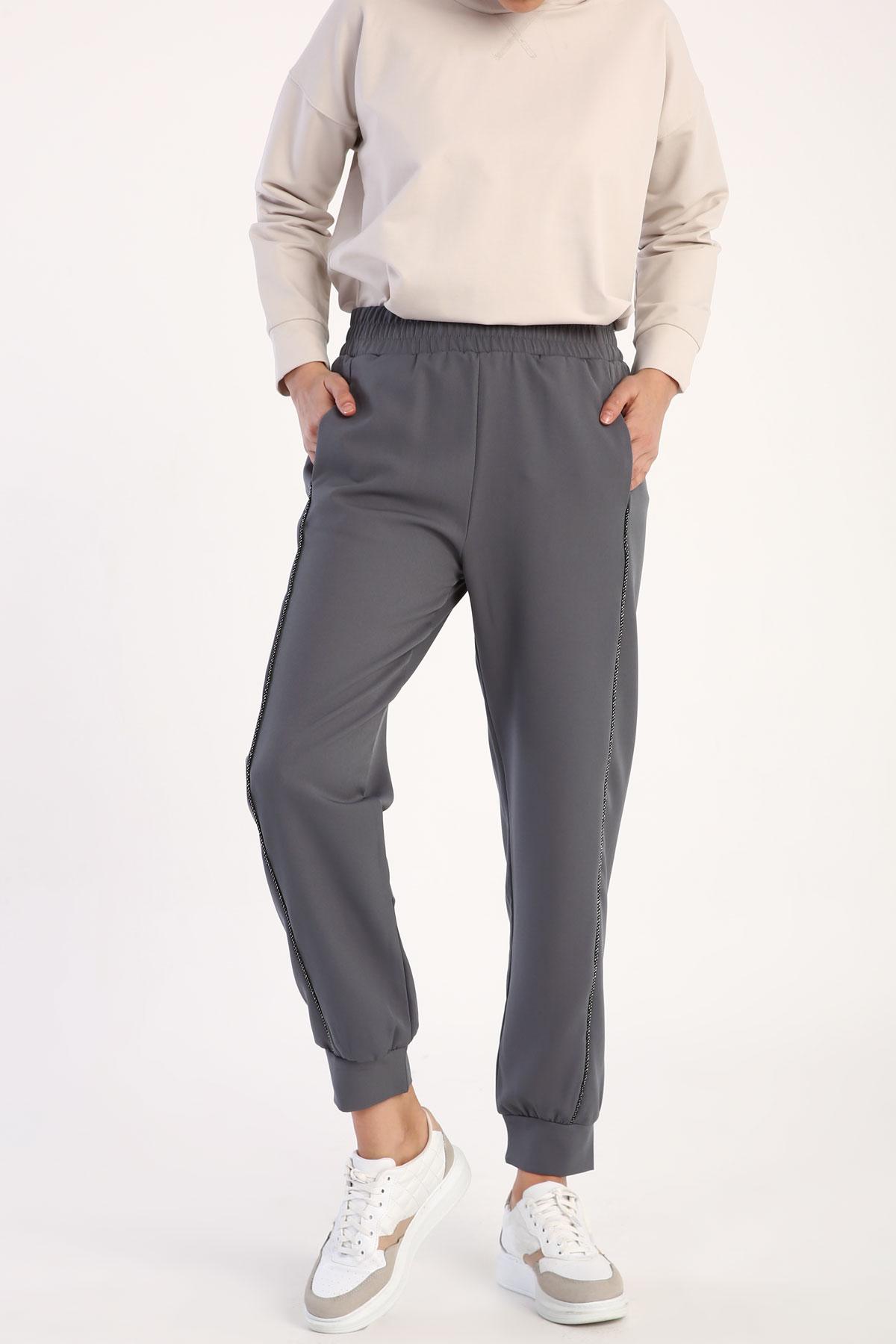 Elastic Waist Jogger Pants